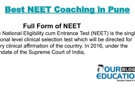 Best NEET Coaching in Pune Infographic