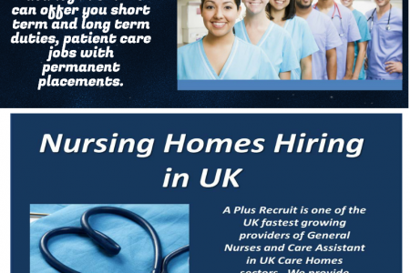 Best Nursing Homes Hiring in UK Infographic