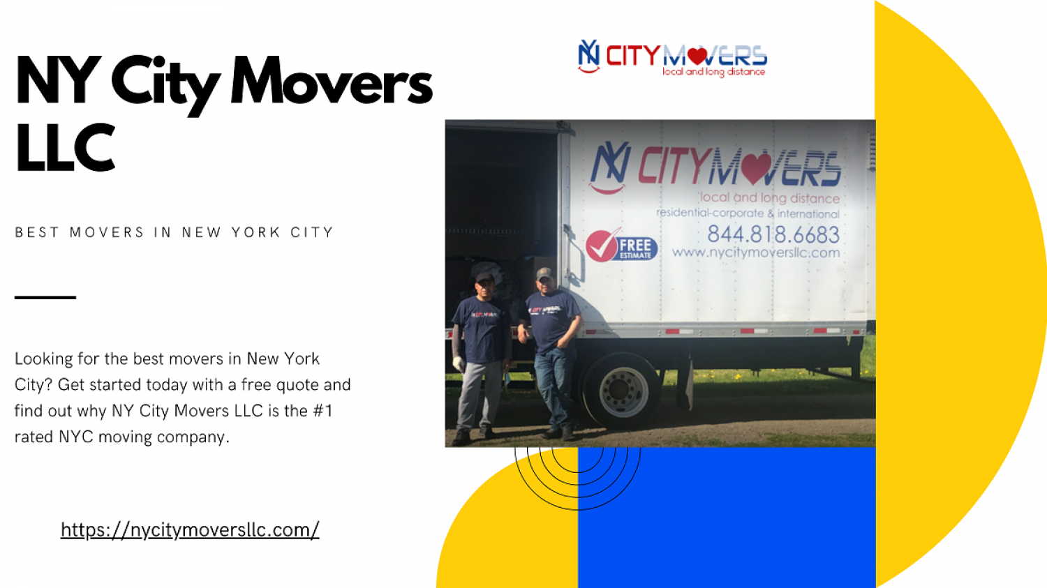 Best NYC Movers Company Infographic