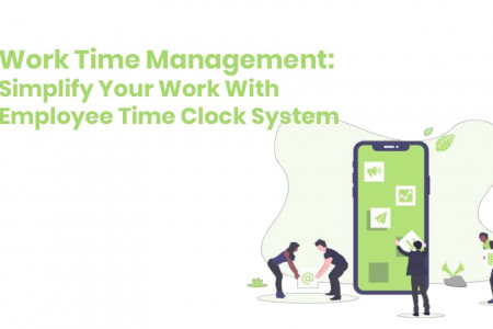 Best Online Time Attendance System Infographic