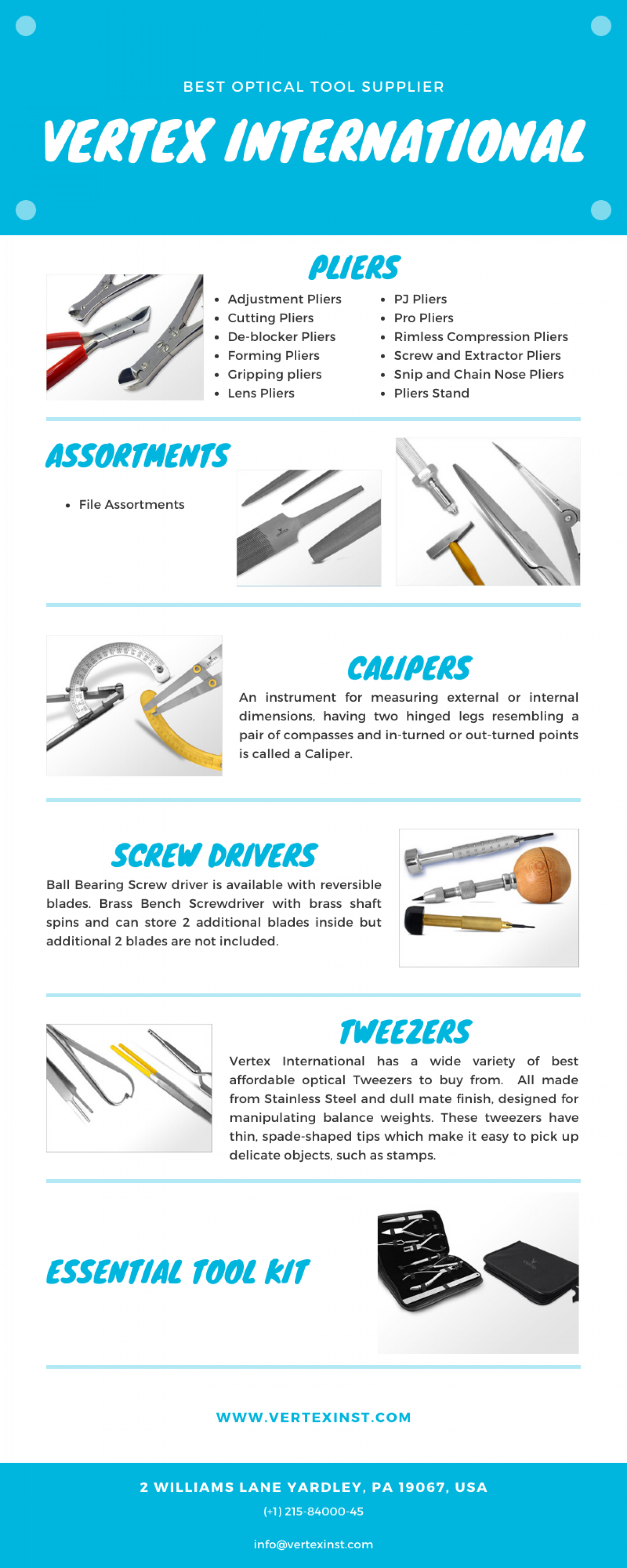 Best Optical Repair Tools in USA Infographic