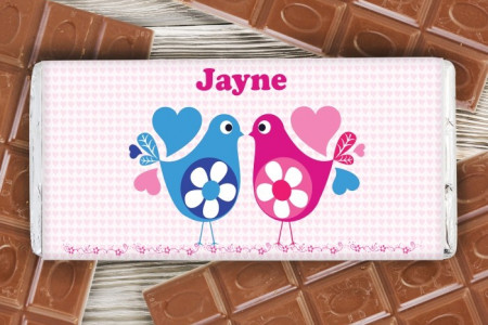 Best Personalised Chocolates For Birthdays Infographic