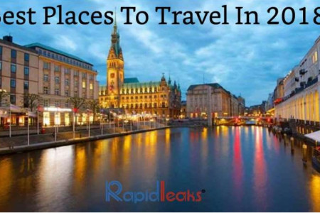 Best Places To Travel In 2018! Infographic