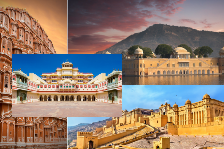 Best Places to Visit in Jaipur Infographic