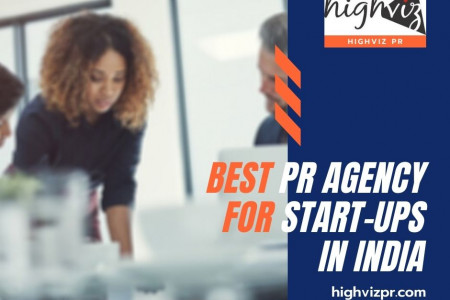 Best PR Agency for Start-ups in india Infographic