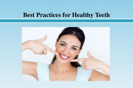 Best Practices for Healthy Teeth Infographic