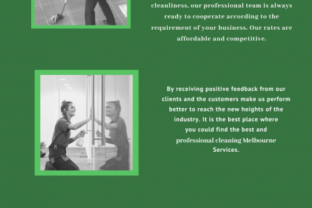 Best Professional Cleaners Melbourne Infographic