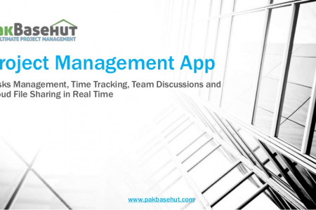 Best Project Management App - Save Time & Find it on Pakbasehut Infographic