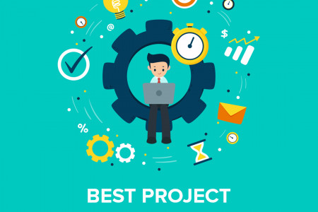 Best Project Management Software - QuickStart Admin Infographic