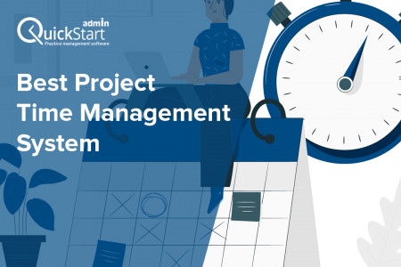 Best Project Time Management System developers - QuickStart Admin Infographic