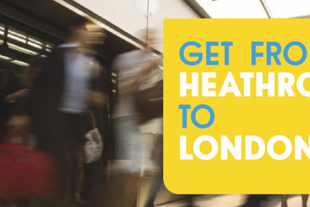 Best Public Transport Options from Heathrow Airport to London Infographic