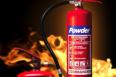 Best Quality Powder Fire Extinguisher Infographic
