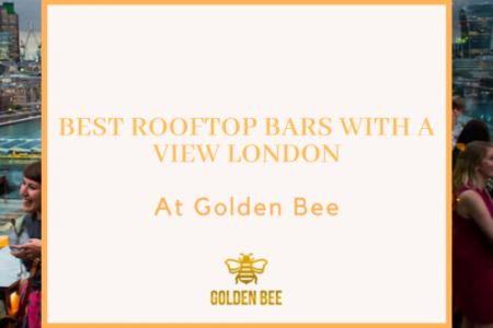 best rooftop bars with a view London Infographic
