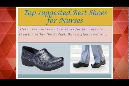 Best shoes for Nurse Infographic