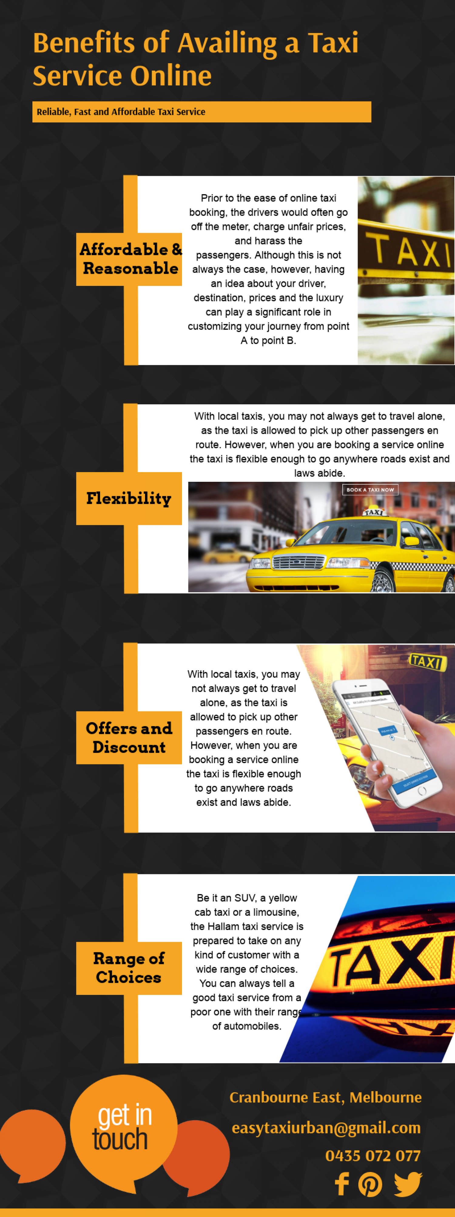 Best Taxi Service Online | Hallam Taxi | Melbourne