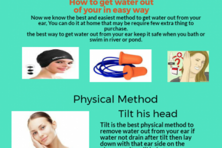 Best Tips to remove water from your ear  Infographic