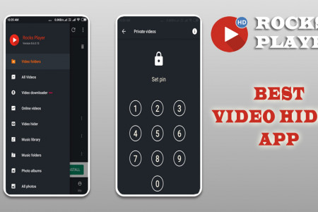 Best Video Hider App Infographic