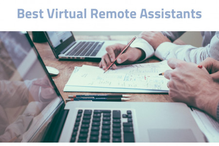 Best Virtual Remote Assistants Infographic