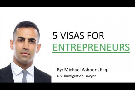 Best Visa for Entrepreneurs USA Infographic