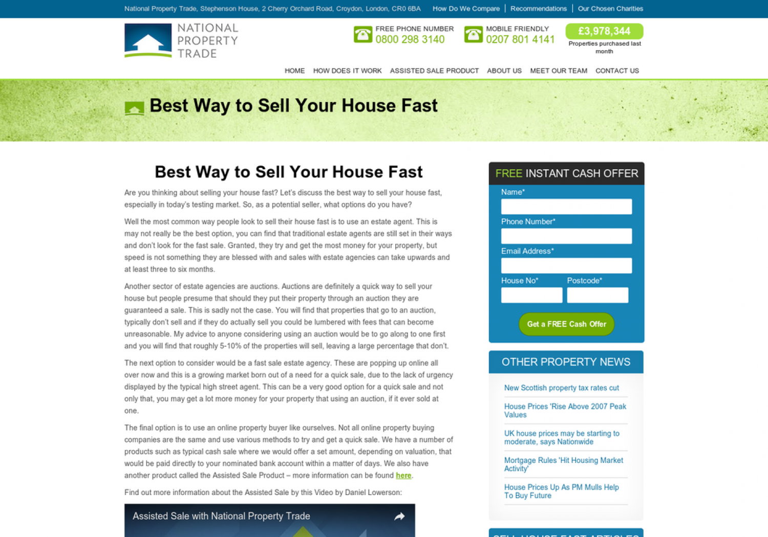 Best Way to Sell Your House Fast Infographic
