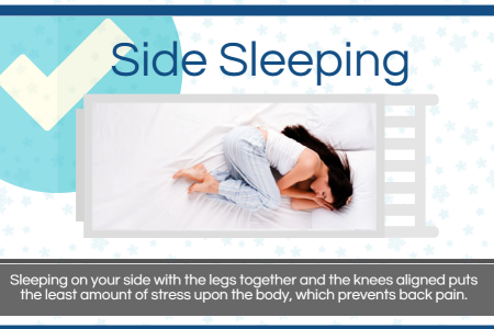 Best ways to sleep if you want to avoid back pain (Infographic) Infographic