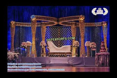 Best Wedding Crystal Mandap - DST EXPORTS Infographic