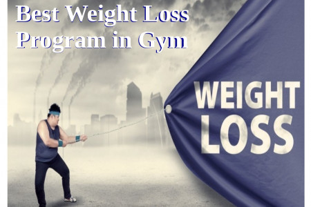 Best Weight Loss Program in Gym Infographic