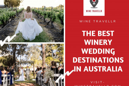 Best Winery Wedding Destinations In Australia Infographic
