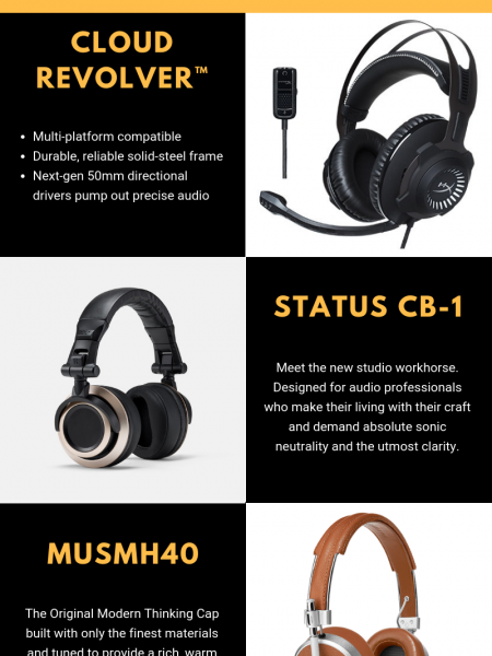 Best Wireless Earphones - Zuzustech Infographic