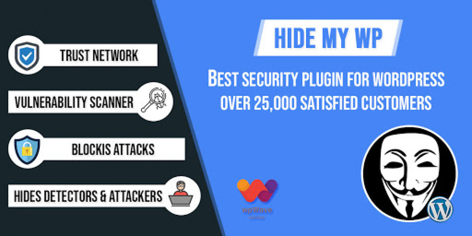 Best WordPress Security Plugins --Hide My WP Infographic