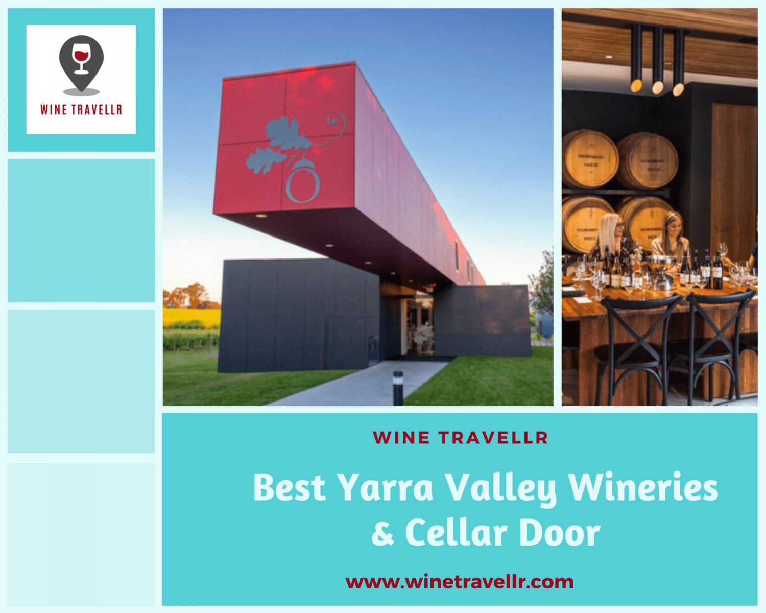 Best Yarra Valley Wineries & Cellar Door Infographic