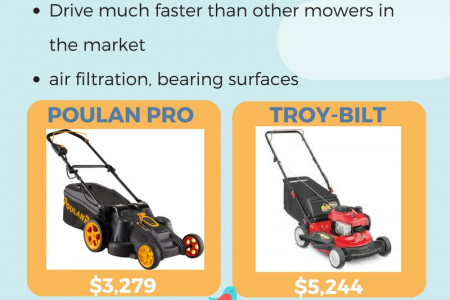 Best Zero Turn Lawn Mower Reviews Infographic