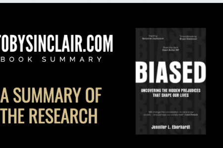 Biased - A summary of the research from the book by Dr. Jennifer Eberhardt Infographic
