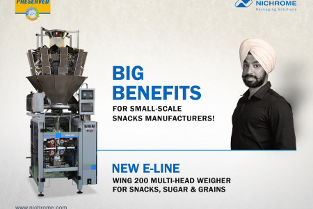 Big Benefits For Small Scale Snacks Manufacturers Infographic