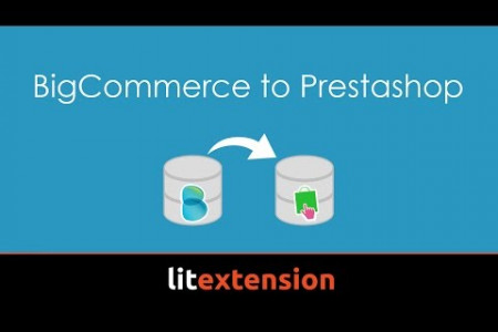 BigCommerce to Prestashop migration Infographic