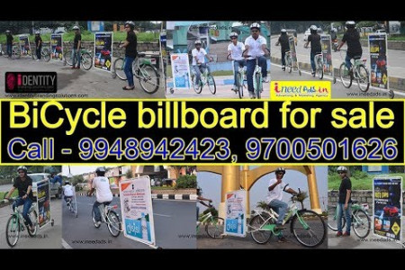 Digital Advertising Agency| Bicycle-Billboard-Trailer| Try cycle Ads in Hyderabad. Infographic