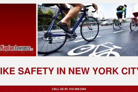 Bike Safety In New York City Infographic