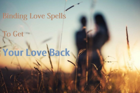 Binding Love Spells to Get Your Ex Back or Attract a Person Infographic