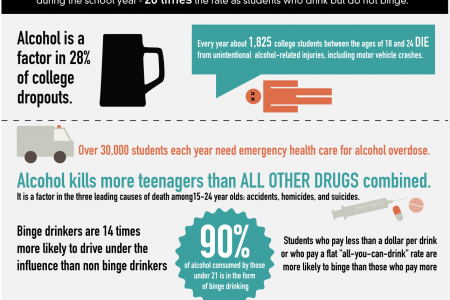 Binge Drinking: The Hidden Truth Infographic