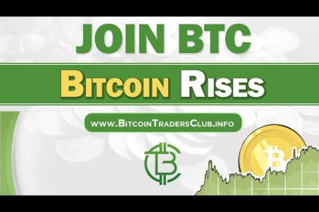 Bitcoin Traders Club | Bitcoin The New Money in town Infographic