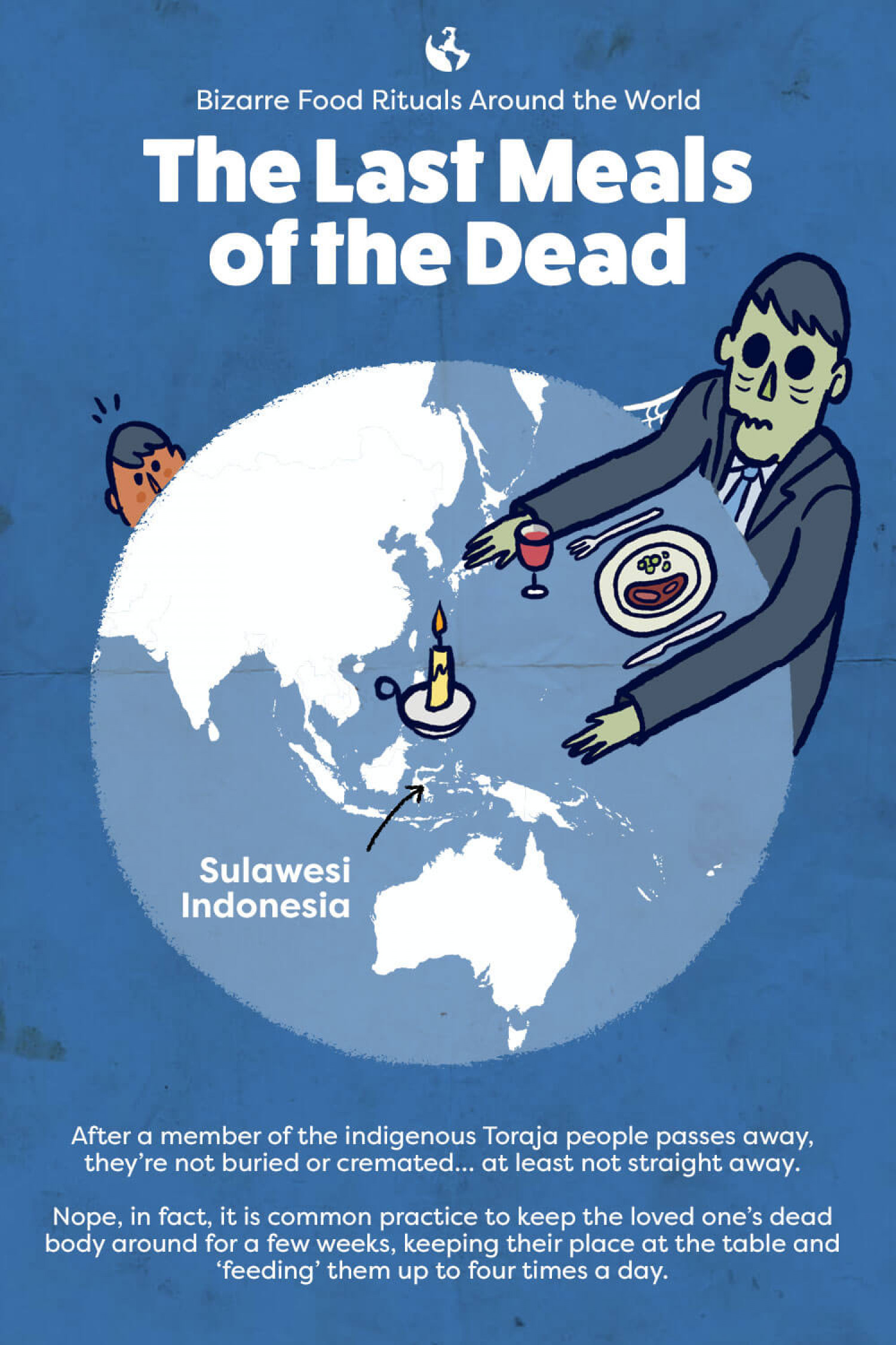 Bizarre Food Rituals: Indonesia  Infographic