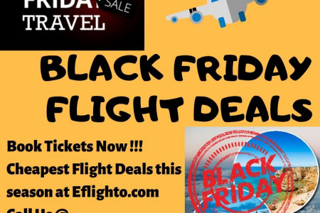 Black Friday Flight Deals | Cheap Discounted Flights Infographic
