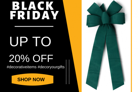 Black Friday Sale on Giant Bows Infographic