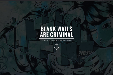 Blank walls are criminal Infographic