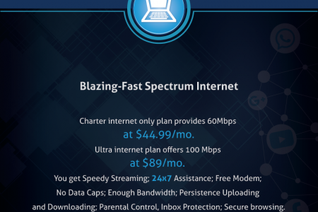 Blazing Fast Spectrum Internet Infographic