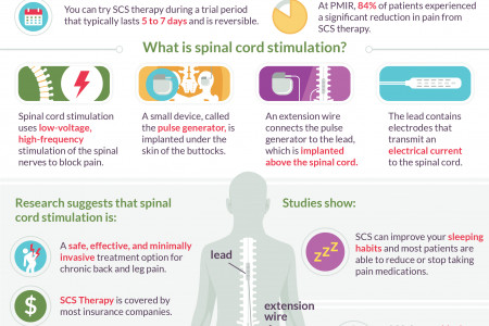 Block Pain and Get Back to Your Life with Spinal Cord Stimulation Infographic