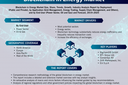 Blockchain in Energy Market: Global Trends and Forecast 2019-2025 Infographic