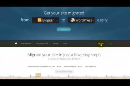 Blogger to WordPress Migration: Automated Conversion Guide [Video] Infographic