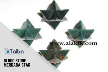 Blood Stone Merkaba Star Infographic