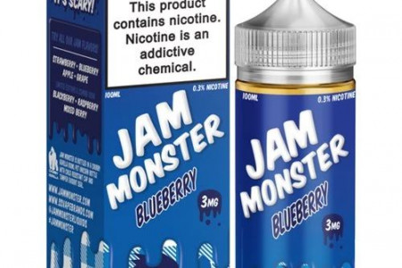 Blueberry by Jam Monster 100ml Infographic